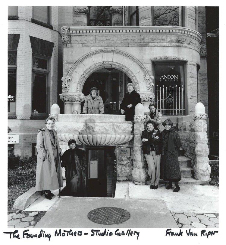 Studio Gallery's founding mothers.