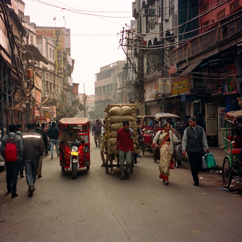 Running Errands, Delhi, 2019. View  here .