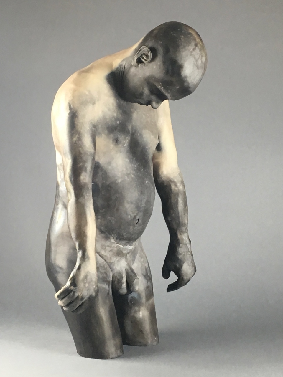 """Cosmos,   Pit-fired Ceramic, 24"""" x 15"""" x 13"""""""