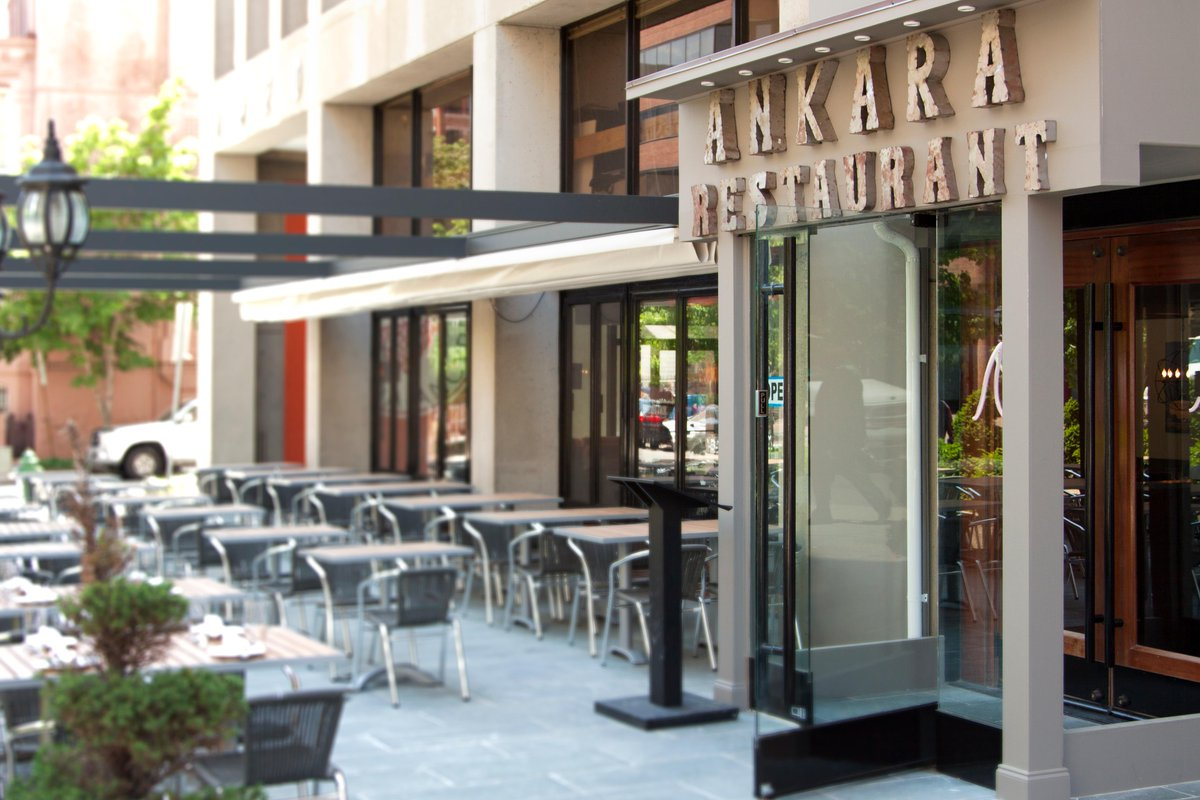 Ankara  offers delicious Turkish and Mediterranean food.