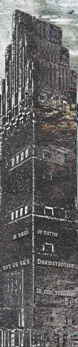 """Darmstadtium 110    Archival Pigment Print with Beeswax Mounted on Birch Panel  24"""" x 6""""  $250  Click image to enlarge ⦿  Inquire"""