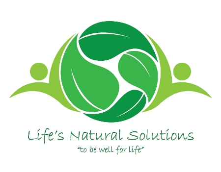 Life's Natural Solutions Concept Logo