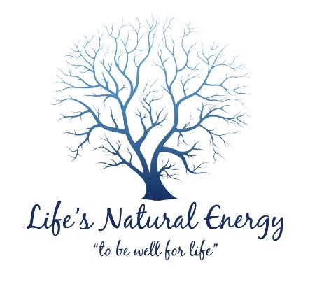 Life's Natural Energy Concept Logo