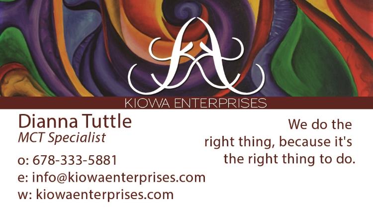 Kiowa Enterprises Front 1
