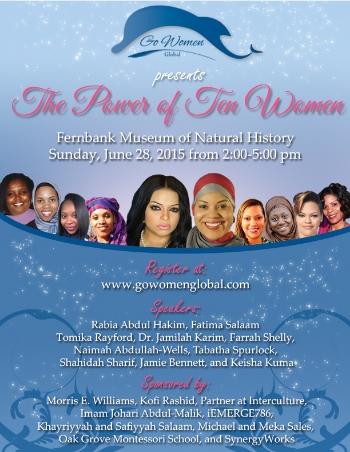 The Power of Ten Women Flyer