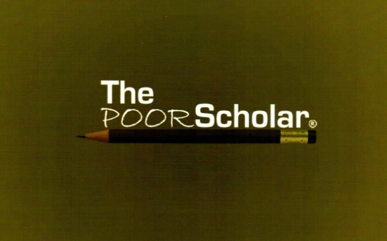 The Poor Scholar Logo