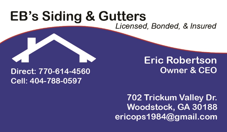 EB's Siding and Gutters- Eric