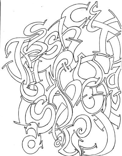 Collage-Hand Drawn