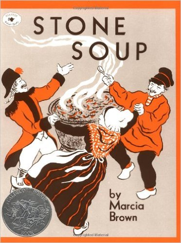 "Stone Soup is a classic folk tale about the power of community. What does this have to do with HH, you may ask? The ""soup"" draws villagers together to achieve a greater good- and isn't that what we're trying to do here? Ages 3 and up."