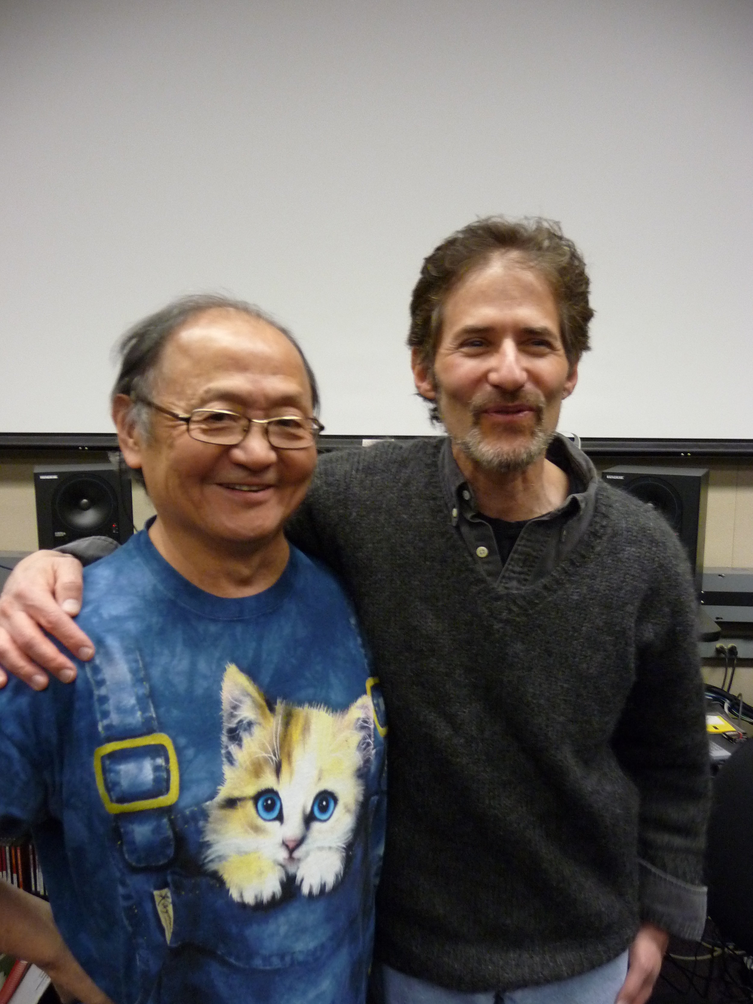with James Horner
