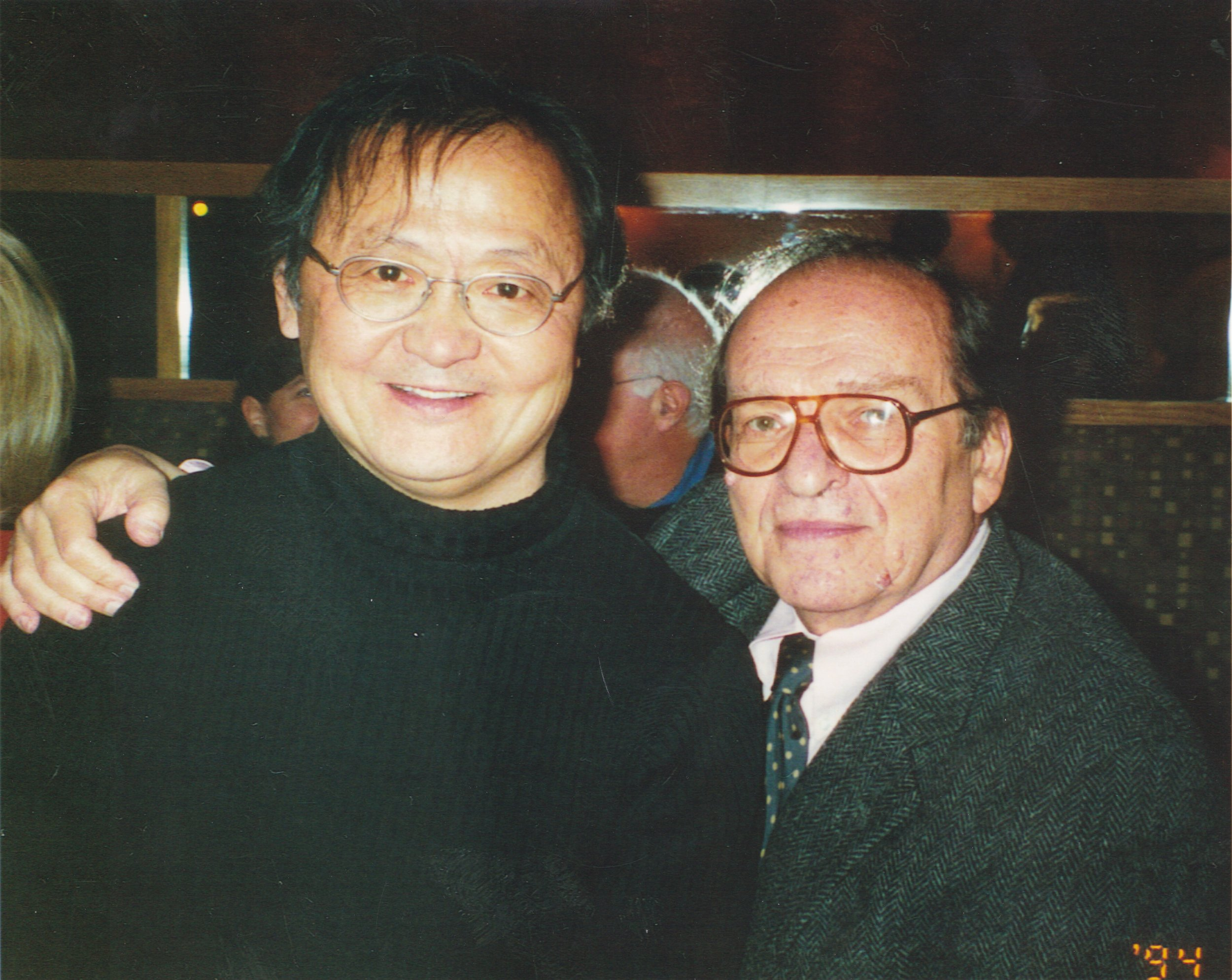 with Sidney Lumet
