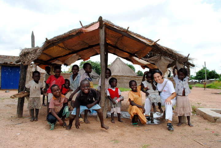 The kids in my first mission in South Sudan.