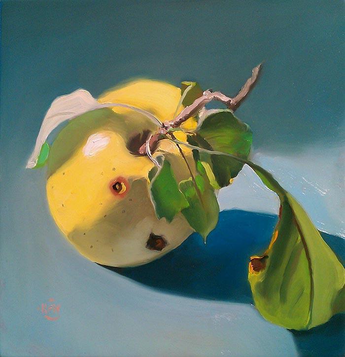 Yellow Apple - SOLD