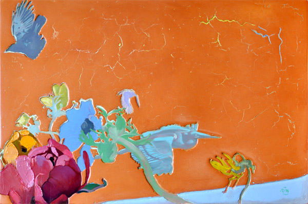 """331 Everything Had Changed 36"""" x 24"""" Oil on wood panel SOLD"""