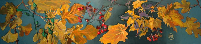 133 - Gingko, Sow Thistle, Mulberry, Deadly Nightshade, Sugar Maple - SOLD