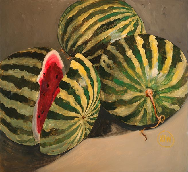 57 - Watermelons - SOLD