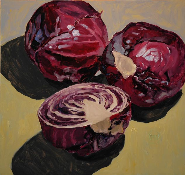 103 Red Cabbage<br>SOLD