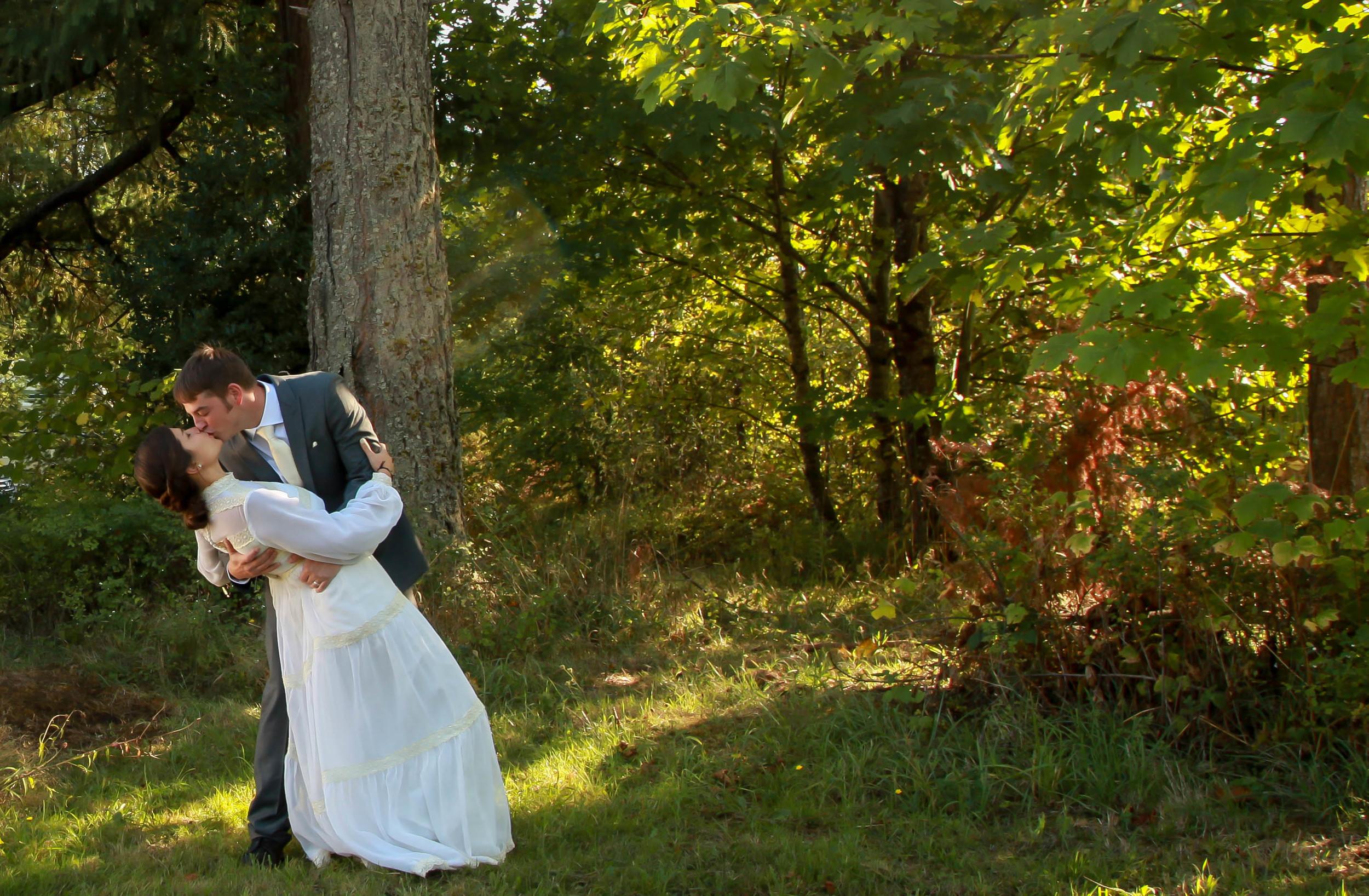 Camas Forest Wedding