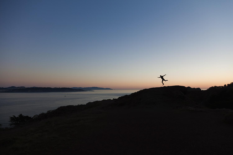 MARIN HEADLANDS bay area travel photographer california sunset silhouette.jpg
