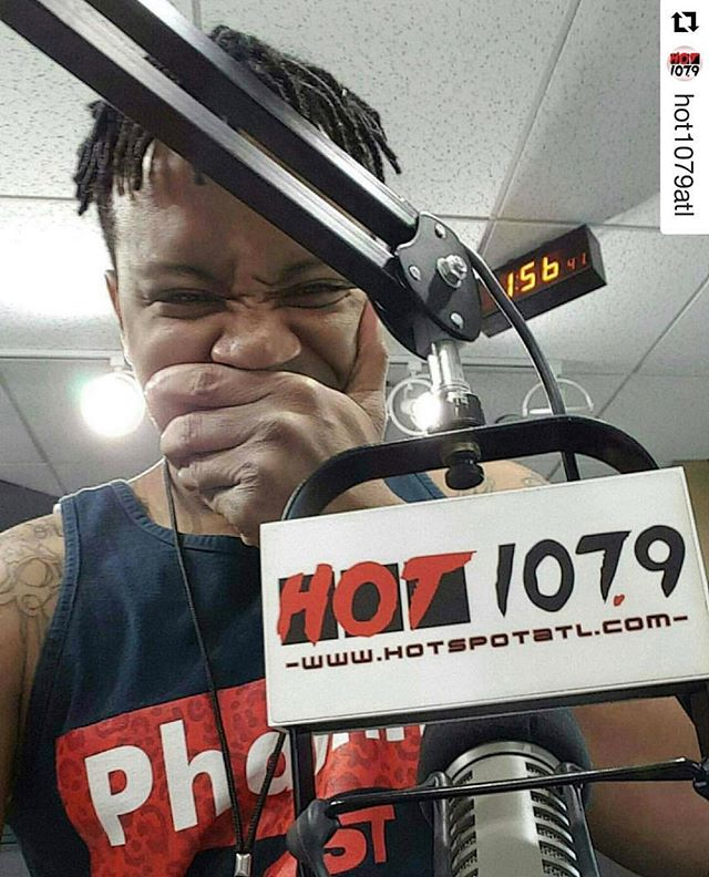 I almost missed #NationalRadioDay. Love to all my radio people out there and my stations! @hot1079atl @mystreetz945atl @foxie105fm 📻
