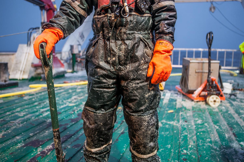 Offshore worker, Arctic Greenland