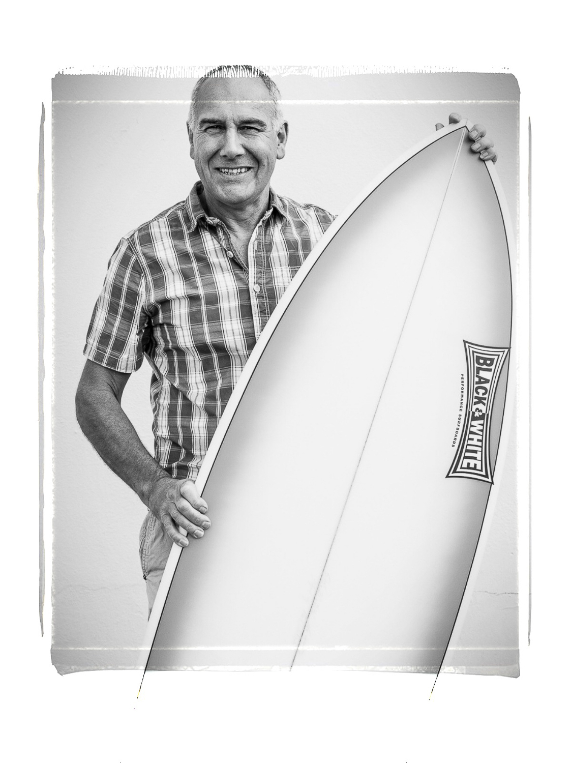 Paul Waters, surfboard shaper