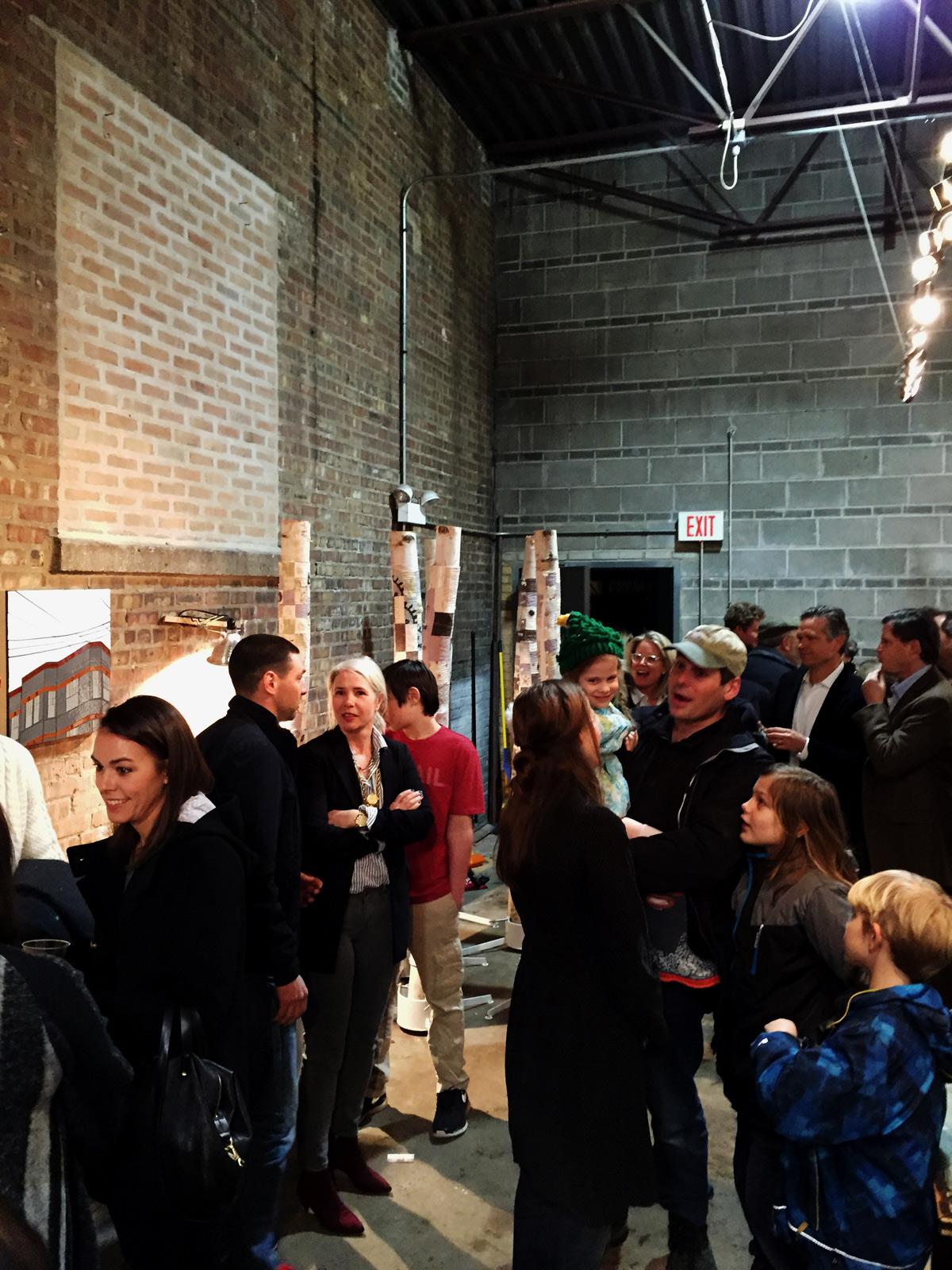 Artificial Turf: Pop-up gallery   Evanston, IL