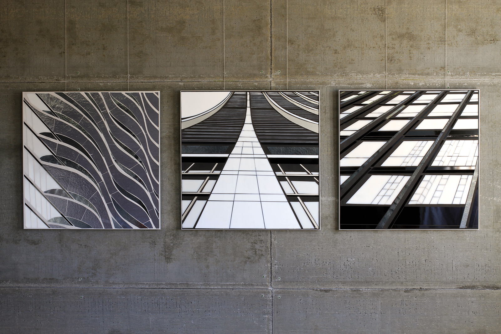 "Reflect 3.2 | Aqua 24""x24"" : Reflect 4.1 
