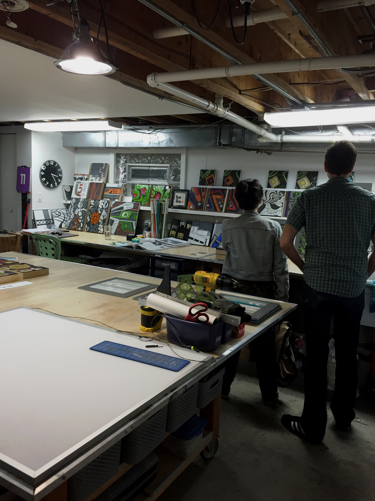 EvanstonMade Open Studio event