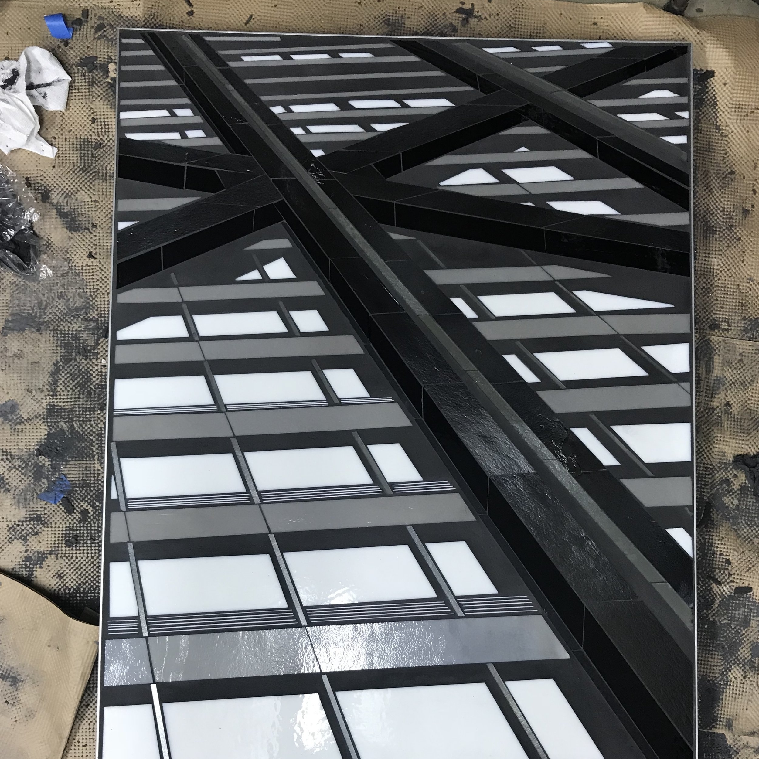 Reflect 3.4 WIP grouting Heather Hancock 2018