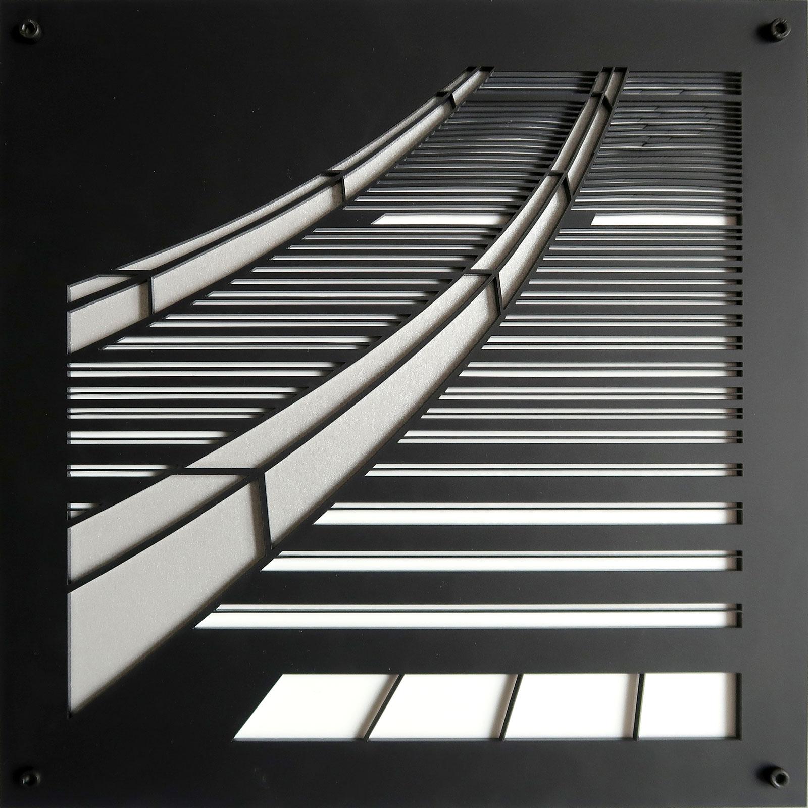 "Soar | lasercut acrylic | 8.5"" c Heather Hancock 2019"