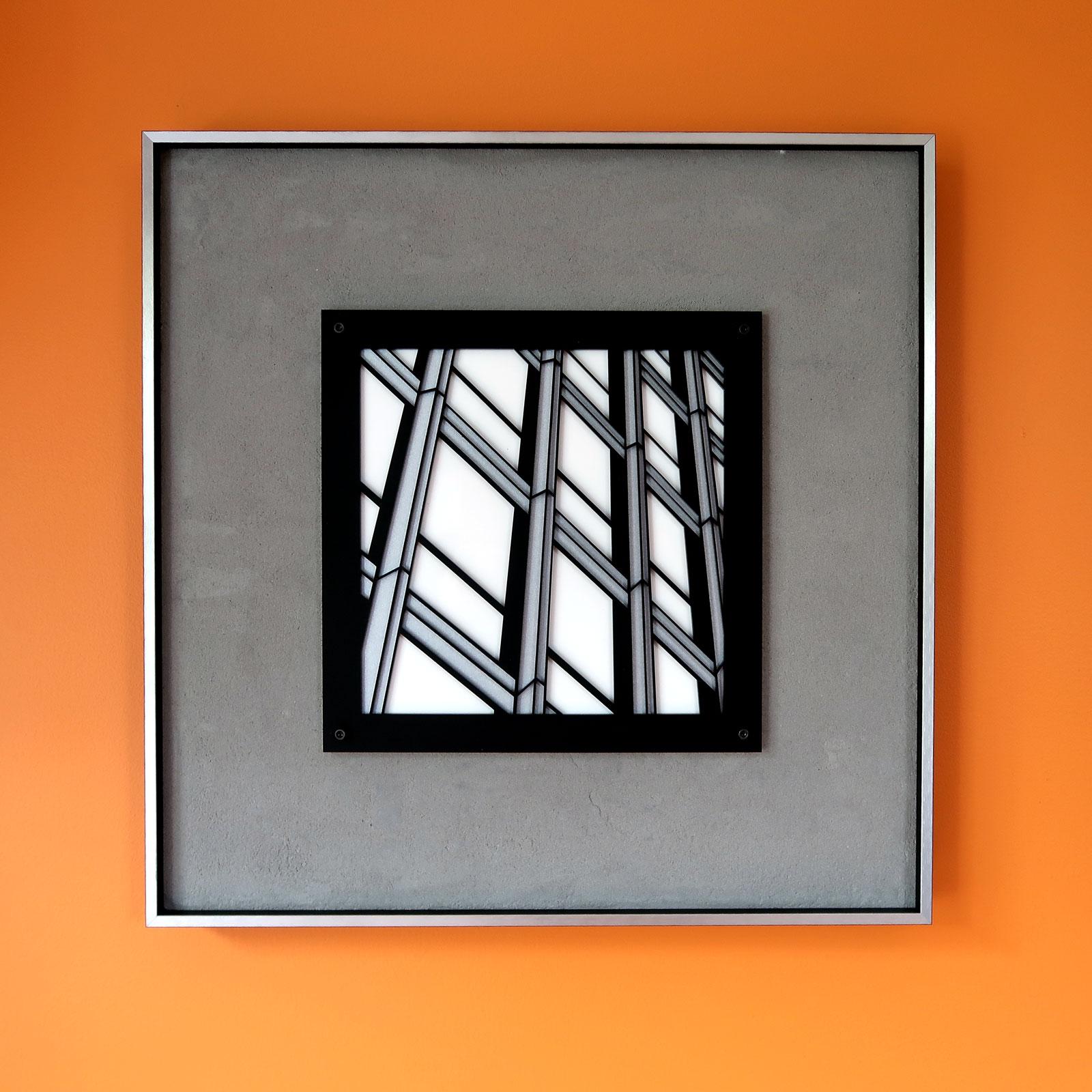 "Join | lasercut acrylic artist print 15"" framed c Heather Hancock 2019"