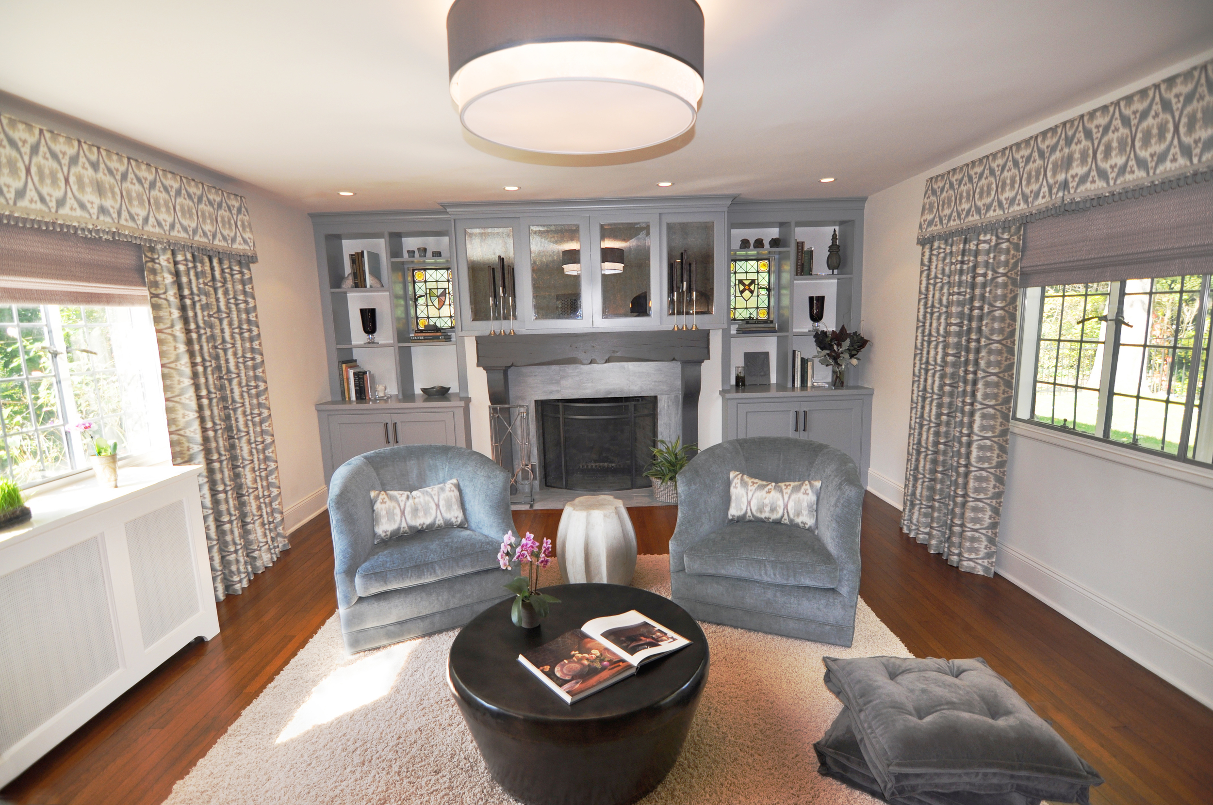 LIVING ROOM: FINAL IMPLEMENTED DESIGN