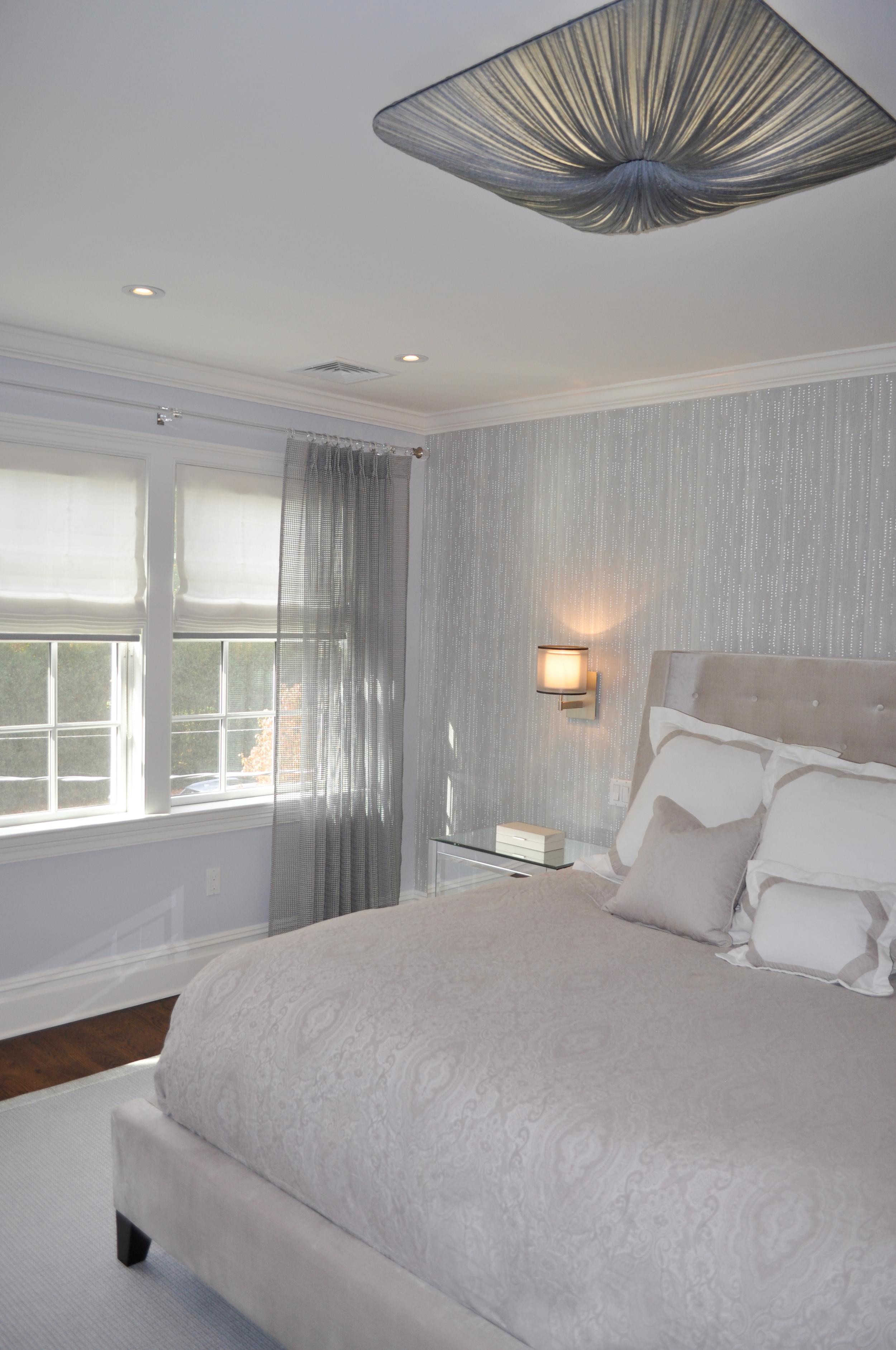 Master Bedroom_Designer Bedroom_Interior decoration_Bedroom Lighting_Aqua Gallery Nara Ceiling Light_KAM DESIGN.jpg