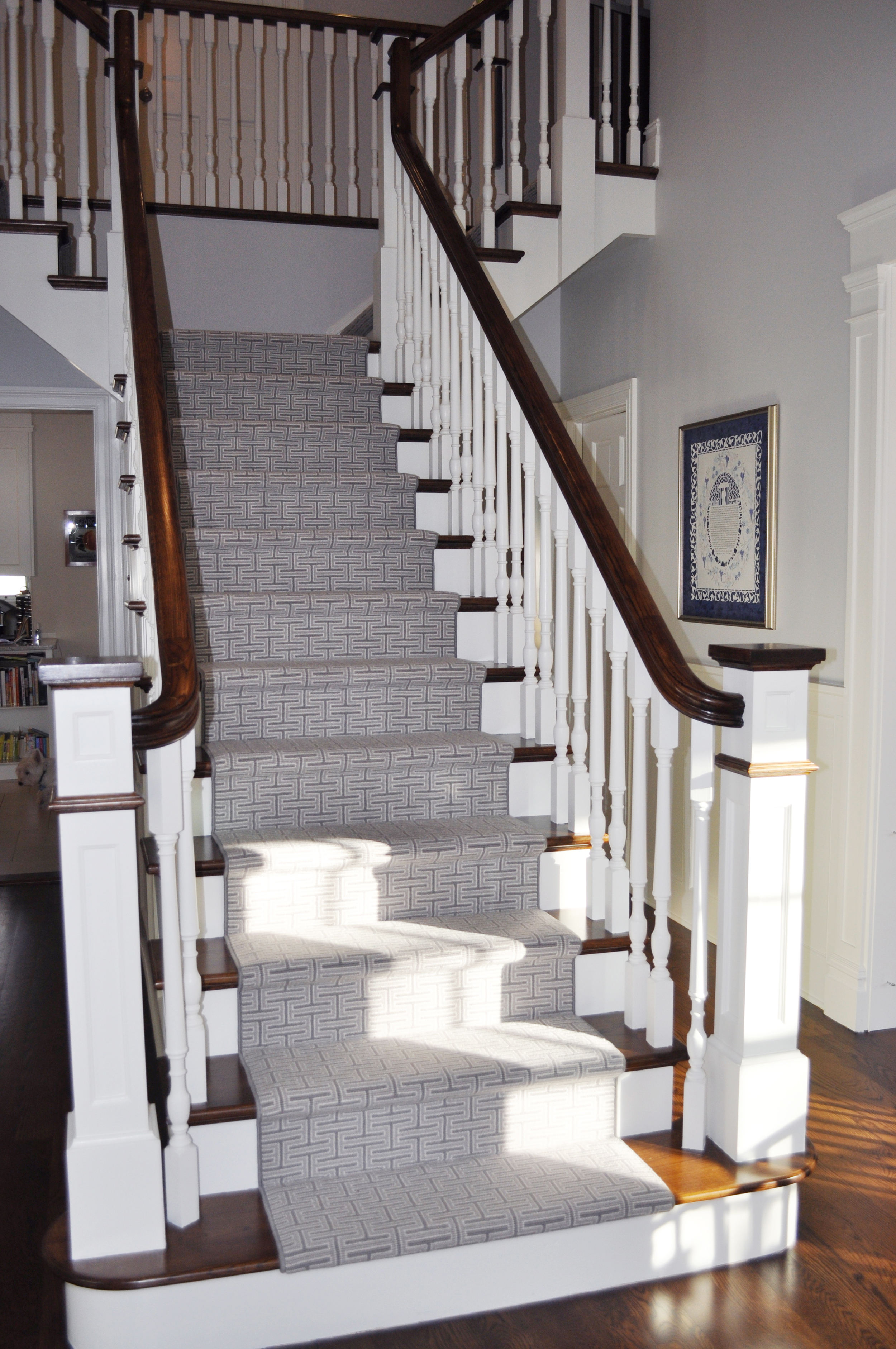 KAM DESIGN LLC_New Rochelle_Entry Stair Carpeting_Grey Stair Runner_Modern Stair Runner.jpg