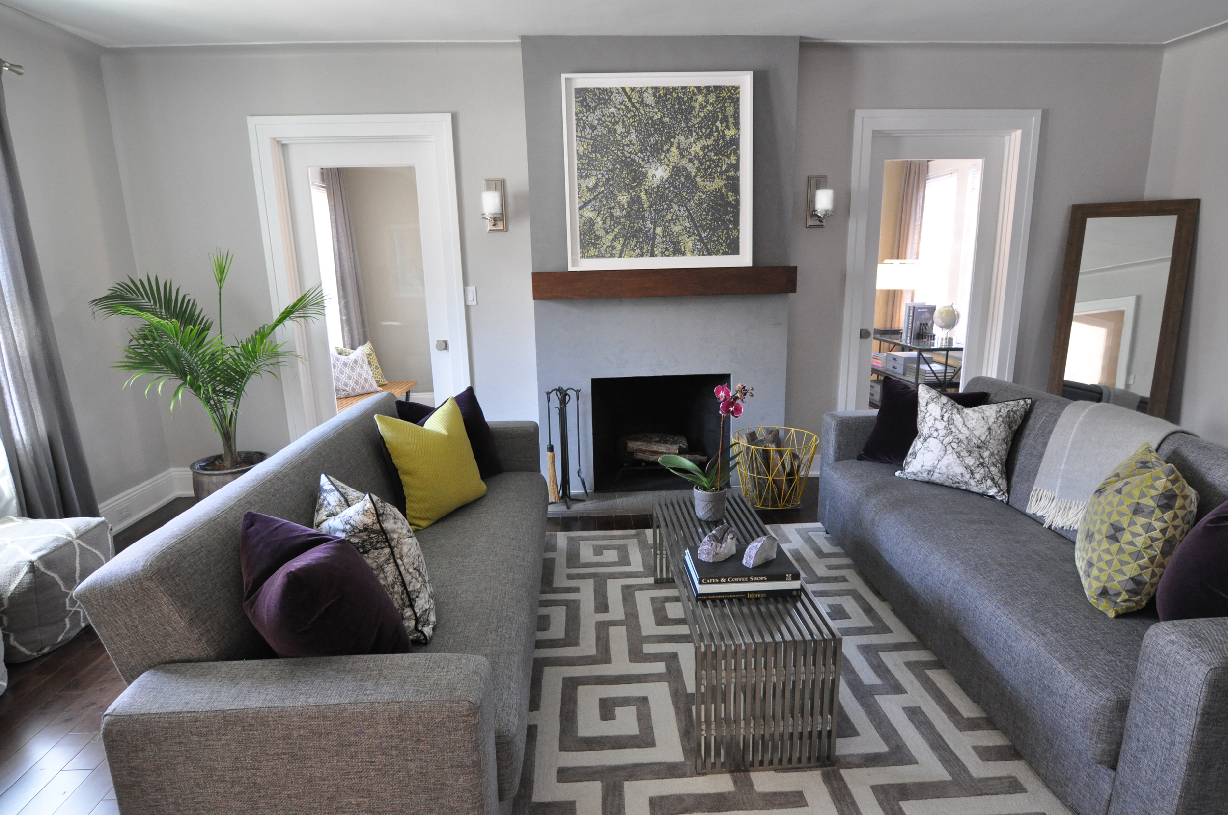 Kim Mitchell Production Designer_HGTV_Buying and Selling with The Property Brothers_Season 3_Episode 315_After Living Room Design_Living Room Reveal_Living Room Fireplace_Kenise Barnes Fine Art_Kontrast_Churchill.jpg