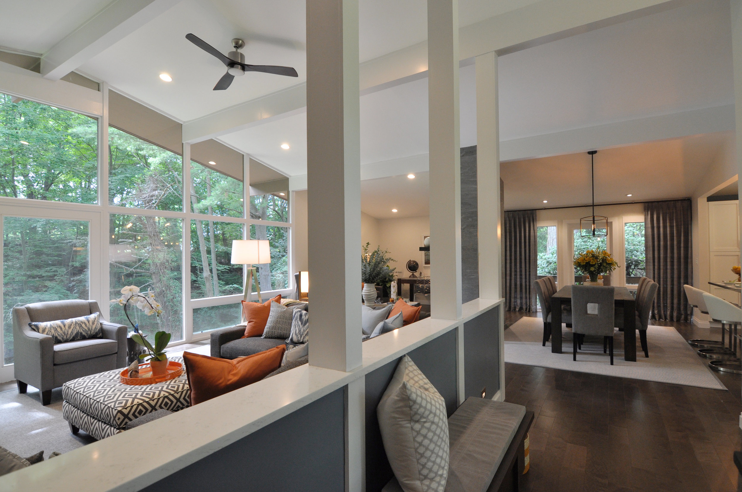 Kim A Mitchell_Design Lead_HGTV_The Property Brothers_Season 6_Episode 9_MidCentury Modern_Entry_Living Room_Dining Room_Modern Home.jpg