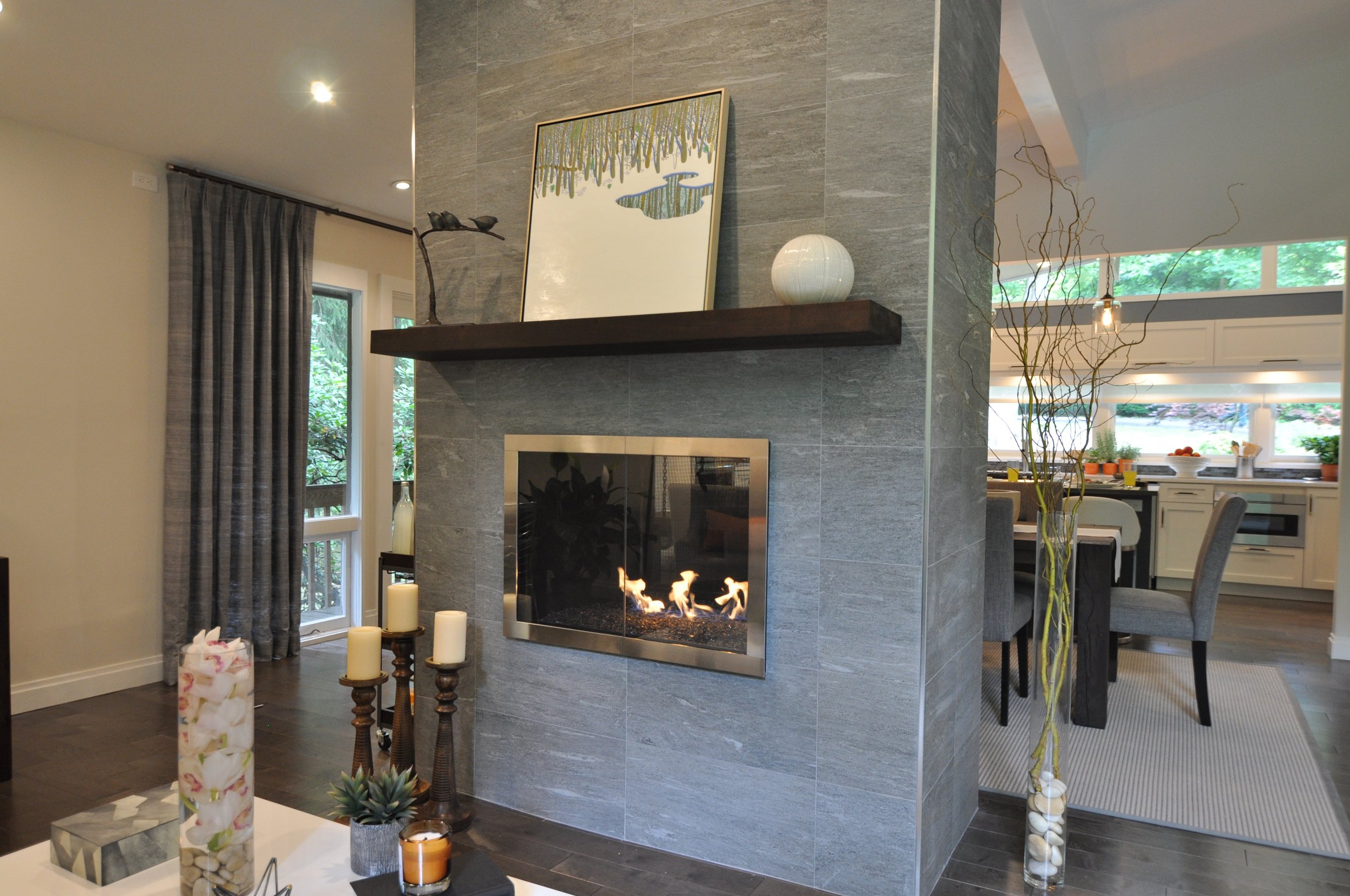 Kim A Mitchell_Design Lead_HGTV_The Property Brothers_Fireplace Tile Wall_Gas Fireplace_Mantel_Art.jpg