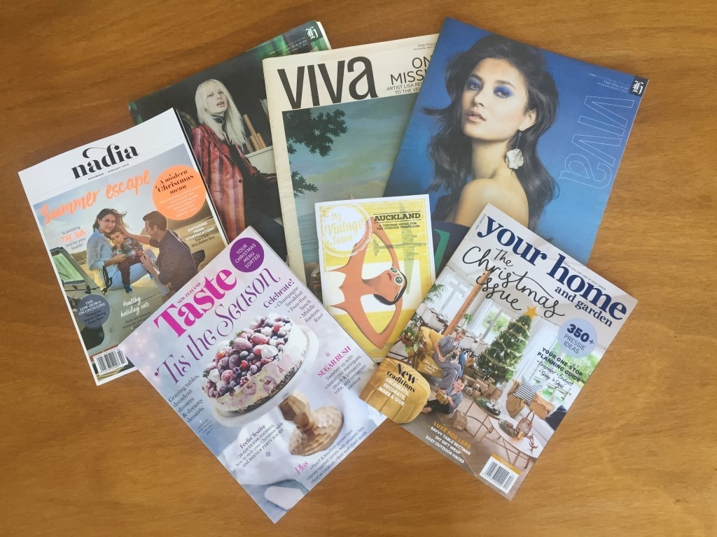 Selection of Magazines that have featured At Large Audio