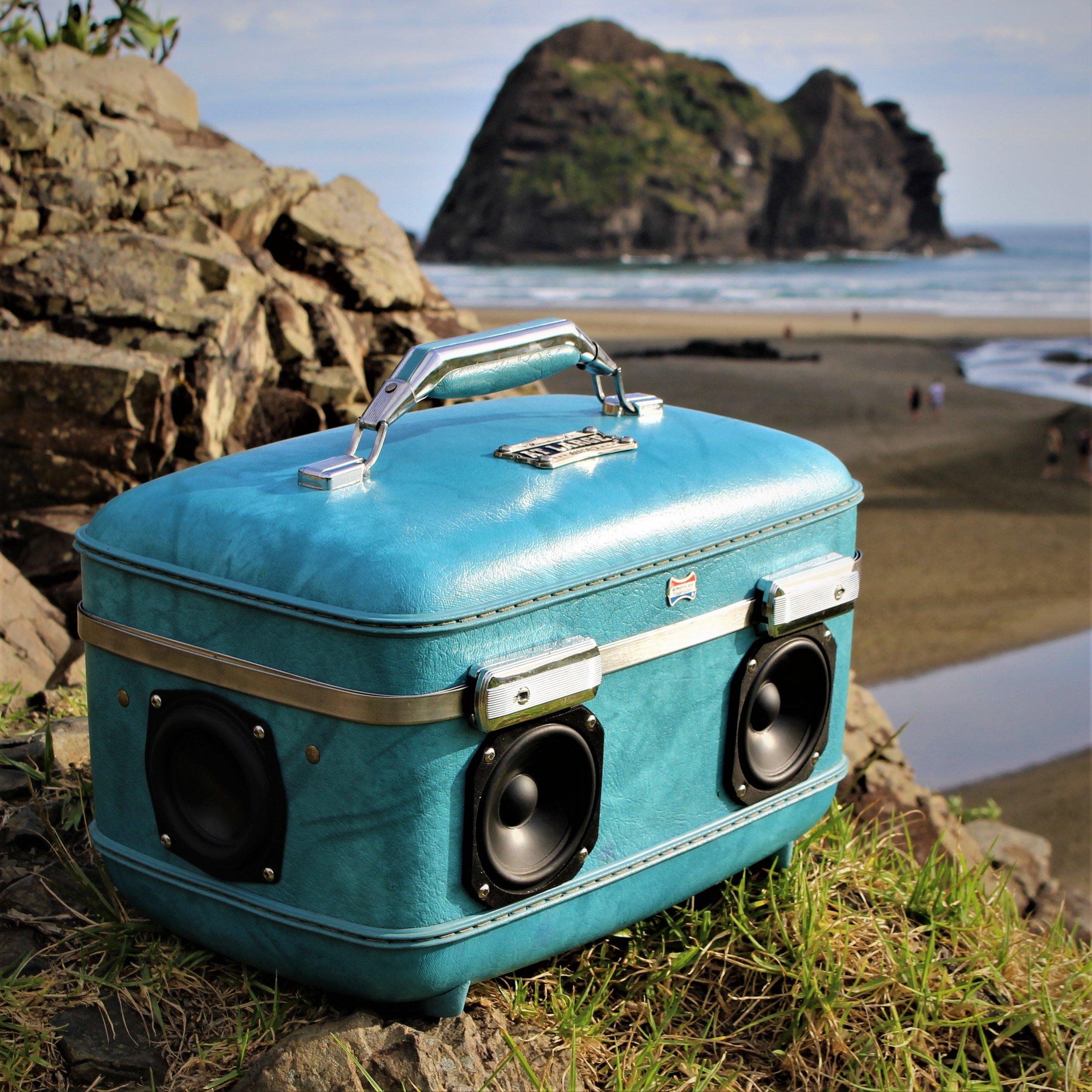 Portable Bluetooth Speaker Suitcase