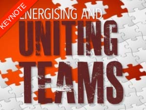 Energising and Uniting Teams - a presentation by guest speaker Kevin Biggar