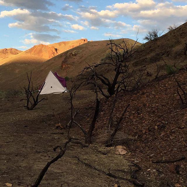 "Studies for ""The Perfect Moment"" on the Oregon Desert Trail #nps100 #findyourpark #nps #parkscanada #mapplethorpe @neaarts @nationalparkservice #lesliegulch #burnedlandscape"