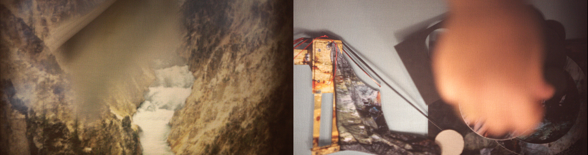 Studies for Making and Unmaking  Video Still from 15' loop