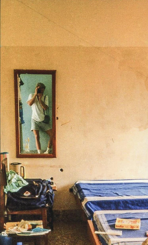 Self-portrait. India.
