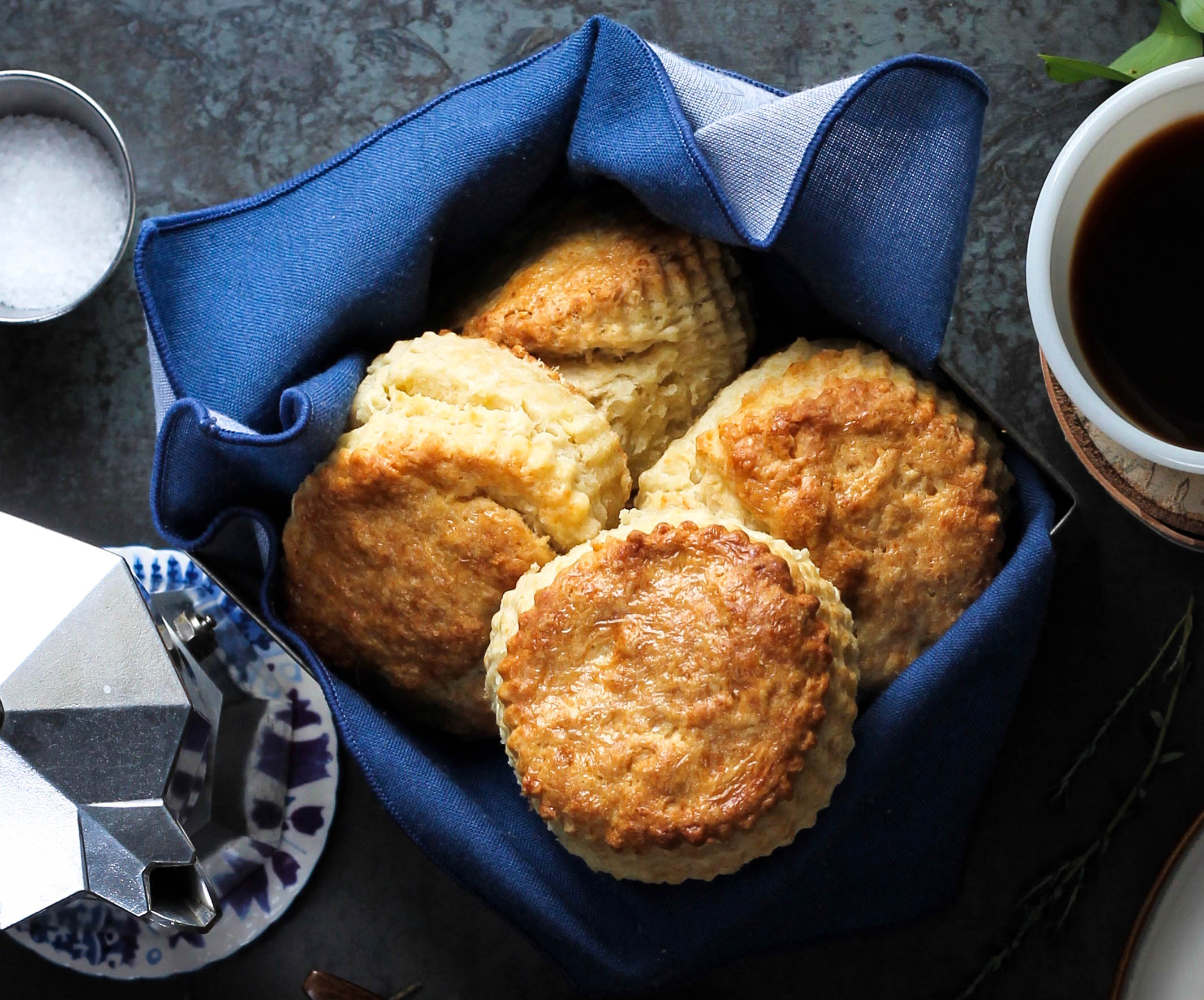 Biscuits From Scratch || Cream + Honey