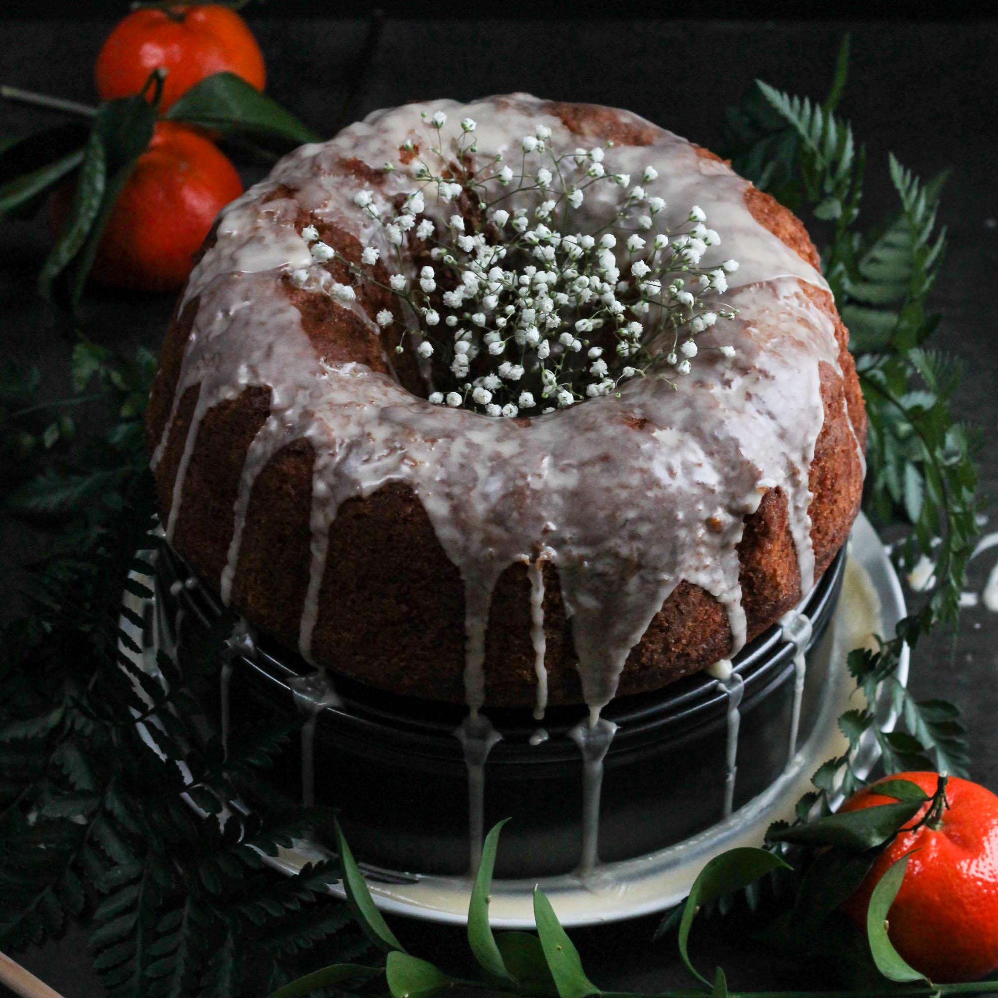 TANGERINE OLIVE OIL BUNDT CAKE
