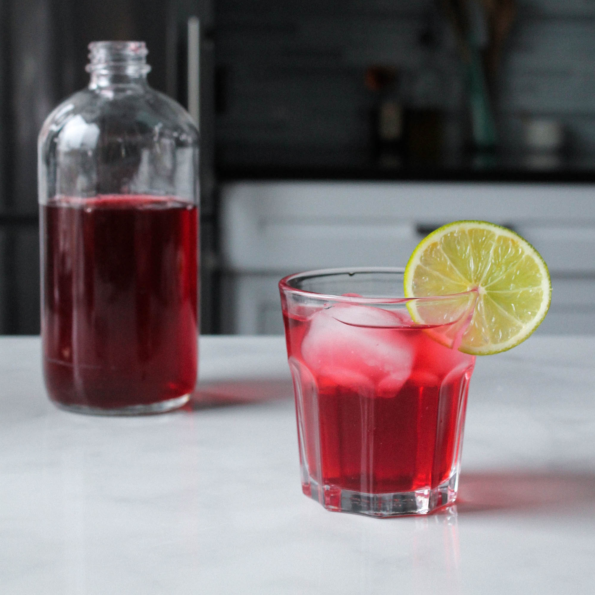 Ginger Hibiscus Switchel: A Fermented Detox Drink