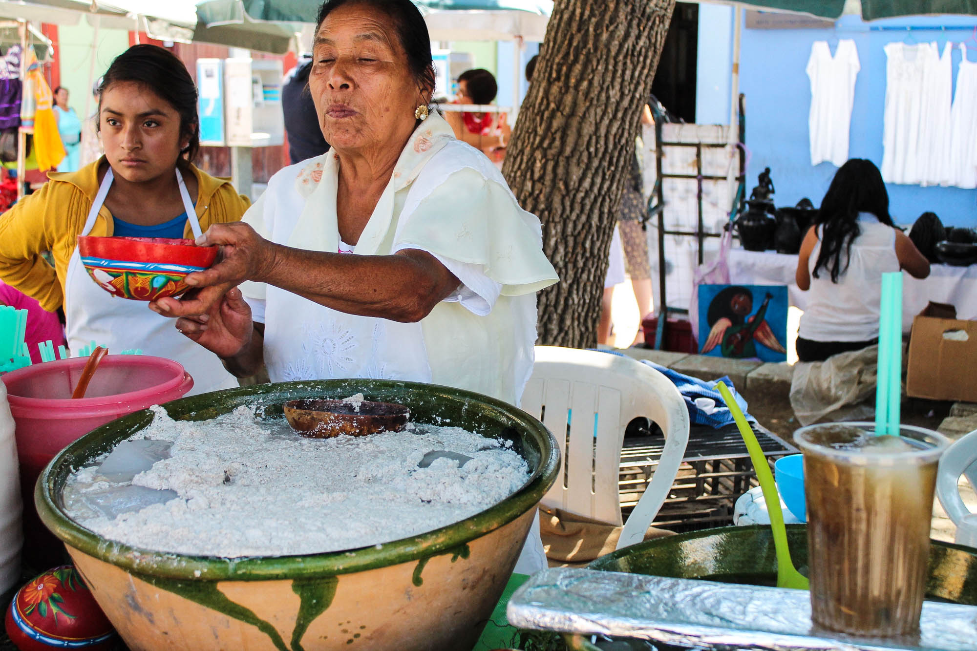 Tejate || OAXACA CITY, MEXICO FOOD GUIDE || creamandhoney.ca