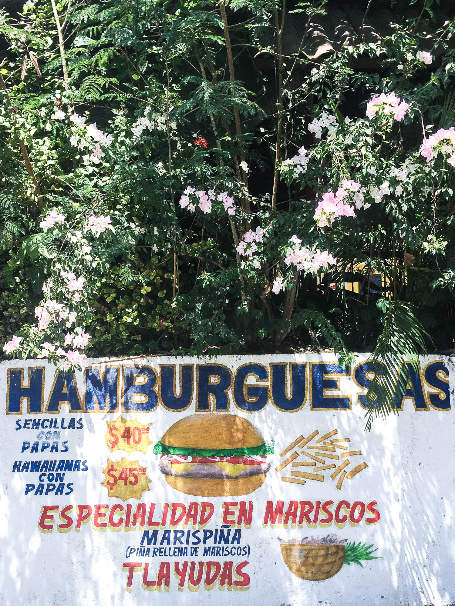 hamburgers || OAXACA CITY, MEXICO FOOD GUIDE || creamandhoney.ca
