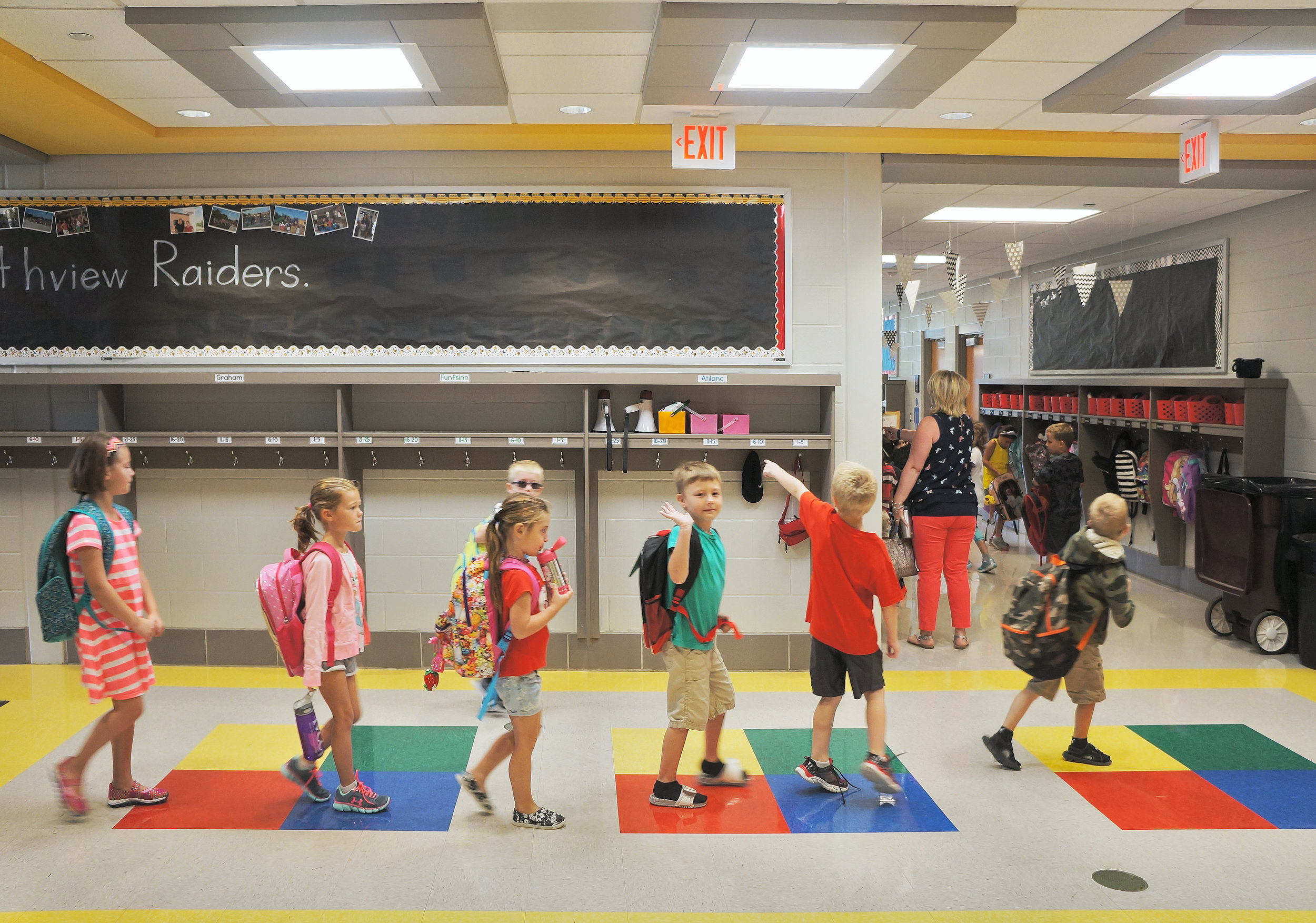 New Pre-K/1 Wing Northview School